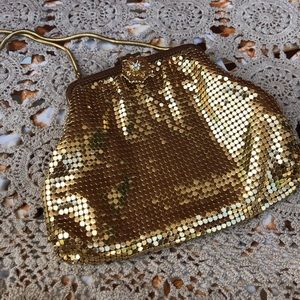 Vintage Gold chainmail Germany wristlet